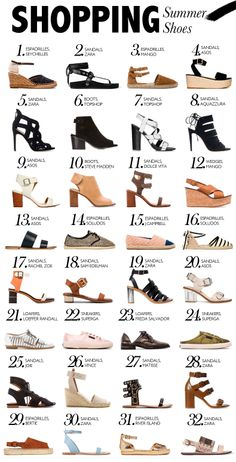 Shopping Bag: Summer Shoes