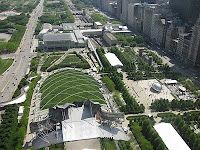 architect for concert hall in Chicago's Millenium Park uses paper-folding to design buildings before construction