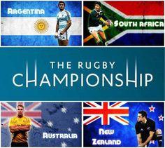 Rugby Championship, oggi si inizia!