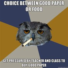 Fuck Yeah Art Student Owl