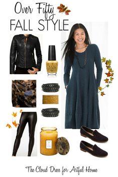 Over 50 Fall Fashion
