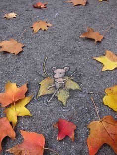 En sommerfugls selvmord: gadekunst