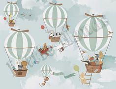 little hands, adorable murals and wallpaper on this site!