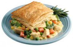 Recipe: Puff Pastry Chicken Pot Pie Squares