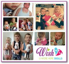 • WUWH Dolls are $39 each• WUWH Dolls are 32cm tall (white on the front with pic)• UNISEX material on the back (Usually colourful geometric or dot pattern)• Images are Heat bonded (machine washable and won't peel)• I choose the material for the backing of your doll, I use only the best and latest quality designer fabrics ( you can specify a colour if you would prefer to but i will choose the print, I only do single people dolls, no group shots or couples due to printing ...