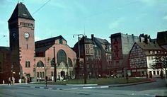 Breslau um 1940 bis 1944 Genius Loci, Prussia, Beautiful Buildings, Homeland, Big Ben, Germany, Black And White, City, Places