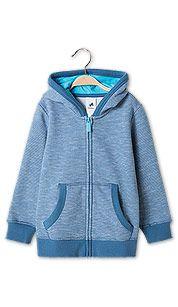 Sklep internetowy C&A | Bluza trykotowa z kapturem - kolor: niebieski