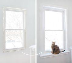Installing Window Sills and Trim