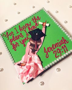 "11.7k Likes, 93 Comments - THE GLAMAHOLIC (@jaylakoriyan) on Instagram: ""My graduation cap was so pretty! Thank you @a.castroart for creating this piece on my cap. It was…"""