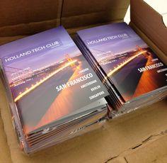 San Francisco here we come! De HTC San Francisco Satellite Diner ledenboekjes zijn binnen...