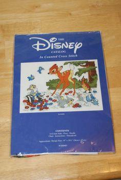 Disney's Bambi Cross Stitch Kit US $39.99 New in Crafts, Needlecrafts & Yarn, Cross Stitch & Hardanger