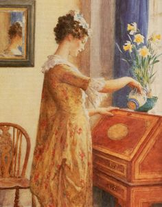 The Athenaeum - Daffodils (William Henry Margetson)