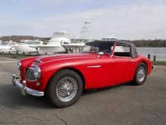 1960 Austin Healey 3000 On sale at F40.com, Wayne Carrini, $72,500.