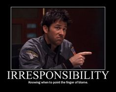 [I'm entirely positive John is pointing that finger of blame at Rodney :D] BLAME RODNEY! XD