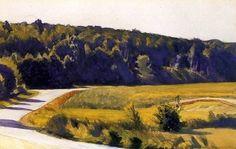 Edward Hopper (1882 — 1967, USA) Shore Acres. 1929 watercolor. 40.6 x 63.5 cm. (16 x 25 in.)