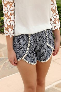 Salty Breeze Pom Shorts
