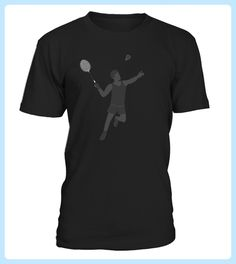 Badminton Player Womens Vintage Sport TShirt (*Partner Link)