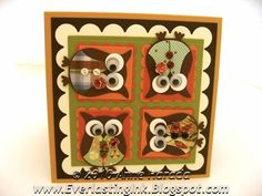 Autumn Owls by Itsapassion - Cards and Paper Crafts at Splitcoaststampers