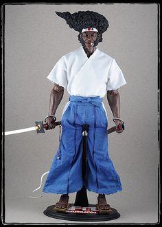 (Science) Fiction, Fantasy, & Adventure Afro Samurai figure - OSW: One Sixth Warrior Forum