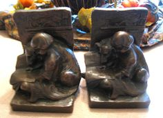 Vintage Bookends Weidlich Bros by MoreThanMcCoy