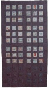 Quilt with paper pieced blocks... Erin Wilson, Gray Series