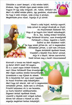 Locsolóversek apának és fiának | kecskemet.imami.hu Easter, Fruit, Breakfast, Scrapbook, Education, Morning Coffee, Easter Activities, Scrapbooking, Onderwijs