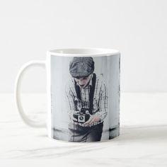 Vintage creativity in process coffee mug