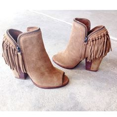 Tassel Martin Boots Pointed Toe Solid Suede Kitten Heels Short Boots only $58.99