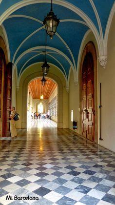 Mi Barcelona: Edificio Histórico de la Universidad de Barcelona