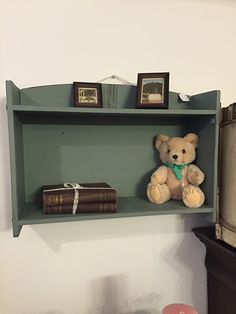 Cupboard in Autentico chalkpaint colour 'Troubled Water'