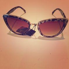 April Spirit Leopard Sunglasses April Spirit Sunglasses. Leopard Print with gold trim. 400 UV Protection. Impact Resistant.  trades April Spirit Accessories Sunglasses