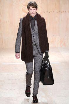Berluti Fall 2014 Menswear Fashion Show