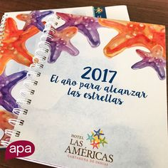 Planner design for our star client. A design that inspires people to reach the stars (by the sea).  What does your brand say?  www.apacreative.com