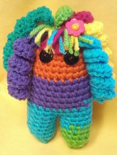 Rainbow Rachael Doll by Beatrice Ryan Designs