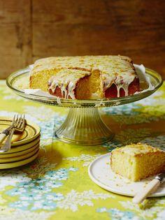 Gluten Free Lemon Drizzle Cake   Fruit Recipes   Jamie Oliver