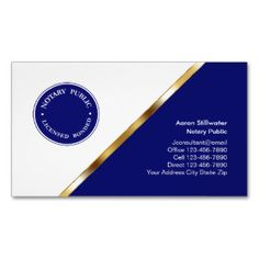 Notary Public Business Card Magnets Magnetic Business --Save 50% on all business cards   |   USE CODE: BUSINESSCARDCards (Pack Of 25)