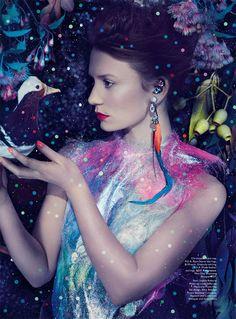 Mia Wasikowska for Vogue Australia March 2014 Ph. Emma Summerton via tfs Mia Wasikowska for AnOther S/S 14 (Full Editorial) Ph. Mia Wasikowska, Vogue Japan, Fashion Art, Editorial Fashion, Fashion Show, Vogue Editorial, Vogue Fashion, High Fashion, Vogue Australia