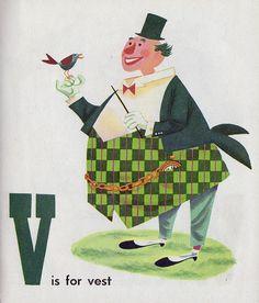 V ... Circus Alphabet - V by Depression Press, via Flickr