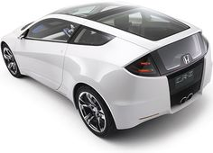 My next car, a Honda CRZ :) It's a hybrid sports car. 6-speed baby!
