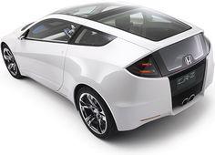 My next car, a Honda CRZ :) It's a hybrid sports car. 6-speed baby!