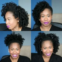 From an everyday look just right for the office, to an elegant side updo and fun styles beyond, @KellyAugustineB loved the stylish results she achieved with the Conair® Curl Secret™ from Walmart. #HeartMyHair #ad #HeartMyHair #sweeps