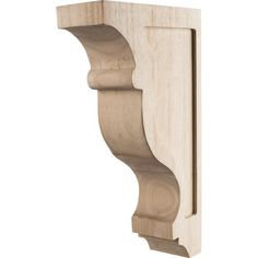 Transitional Contour Corbel 3In. x 8In. x 14In. Species: Alder