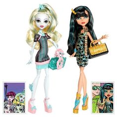 78.90$  Watch now - http://ali1y7.worldwells.pw/go.php?t=32240424934 - 2015 Hot Sale! Favorite Cleo De Nile and Lagoona Blue orchid chocola sets toys&dolls,princess doll for girls christmas gifts 78.90$