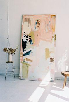 Art Inspo, Art Rose, Blog Art, Orange Painting, Deep Space Sparkle, Art Et Illustration, Simple Illustration, Contemporary Paintings, Contemporary Style