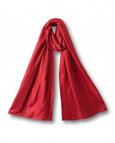 Shimmer Scarf This super soft scarf features shimmering stitch detailing. Perfect for day or evening. Read more at http://www.east.co.uk/scarlet-shimmer-scarf-red/#mT3FDibBxYSMIrWB.99