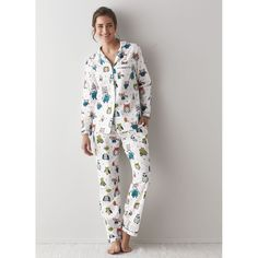 Womens Pajamas Set – It's a Hoot | The Company Store