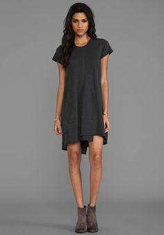 Rib Mix Dress