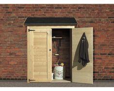 Karibu Anbauschrank ECO 1,5, 123x65 cm Furniture, Garden Tools, Home, Tall Cabinet Storage, Locker Storage, Entryway, Wooden Sheds, Storage, Wood Shed