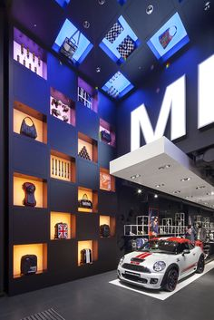 MINI pop up store by Studio 38, London