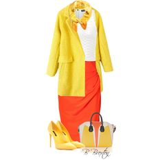 Candy Corn, created by bbroxton on Polyvore